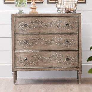 Rodney 3 Drawer Chest by Ophelia & Co.