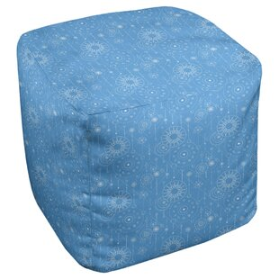 Leffel Astrology Cube Ottoman by Ebern Designs