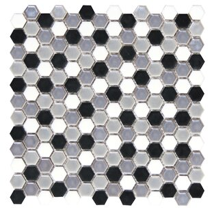 Confetti Random Sized Porcelain Mosaic Tile