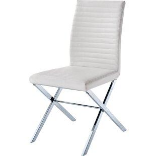 Orren Ellis Fish Upholstered Dining Chair..