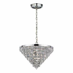House of Hampton Korte 5-Light Crystal Chandelier