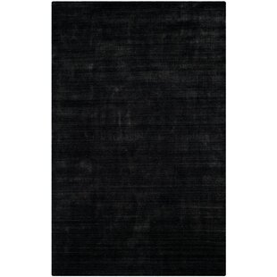 Best Choices Wald Hand-Woven Anthracite Area Rug By Mercer41