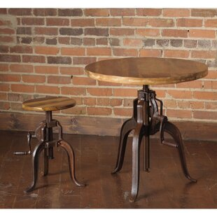 Siri 2 Piece Adjustable Pub Table Set