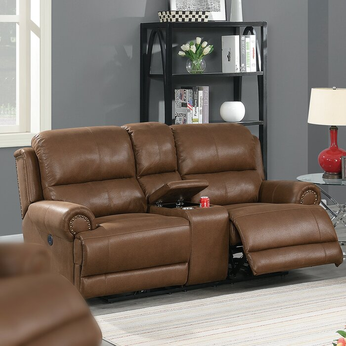 Outstanding Careen Reclining Loveseat Pabps2019 Chair Design Images Pabps2019Com