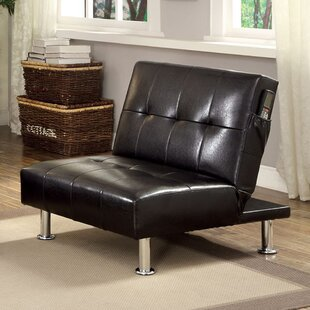 Capetillo Contemporary Convertible Chair Ebern Designs