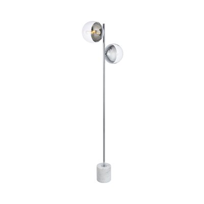 Modern Chrome Floor Lamps Allmodern