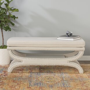 Payne Fabric Storage Bench by World Menagerie