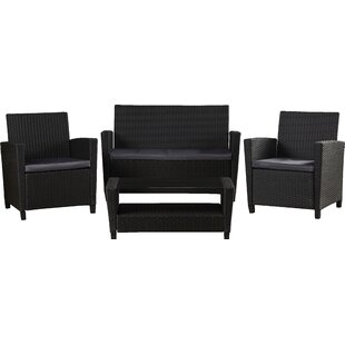 Feltonville 4 Piece Sofa Set With Cushions