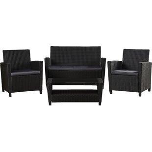Feltonville 4 Piece Sofa Set With Cushions
