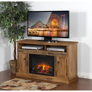 Look for Fresno TV Stand for TVs up to 40 with Fireplace by Loon Peak Reviews (2019) & Buyer's Guide