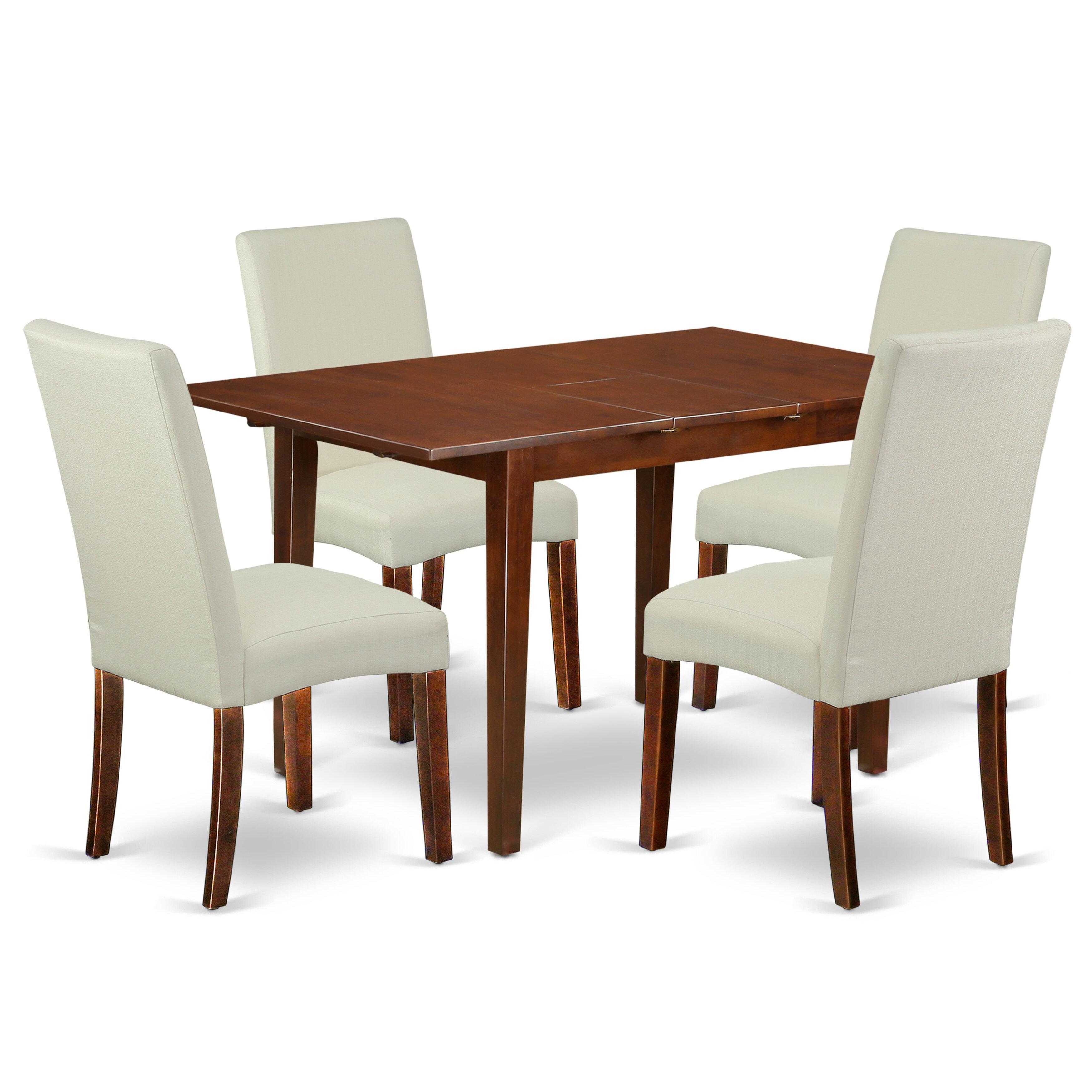 2x Dining Chairs Linen Fabric Cushion Padded Metal Legs Restaurant Tub Armchair