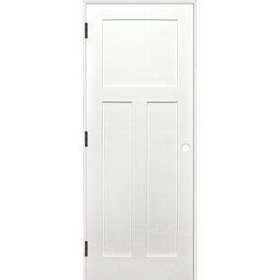 28 inch interior barn door wayfair shaker 3 panel solid panelled wood prehung interior swinging door planetlyrics Gallery