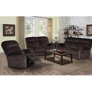 Red Barrel Studio Zinnia Reclining 3 Pieces Living Room Set
