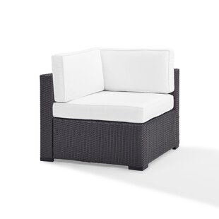Highland Dunes Dinah Corner Chair with Cushions
