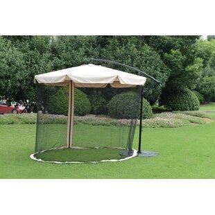 Canora Grey Eccleston Outdoor Offset Shade 10' Cantilever Umbrella