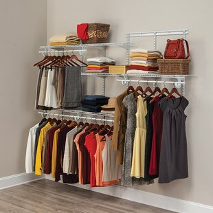 Adjustable Clothes Storage System Up To 244cm Wide By Closetmaid
