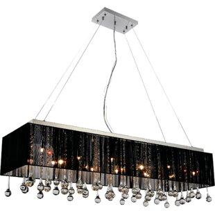 CWI Lighting Water Drop 17-Light Square/R..