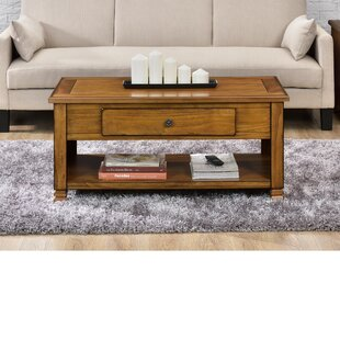 Gutierres Coffee Table with Storage Andover Mills