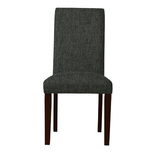 Beachwood Solid Upholstered Parsons Chair (Set of 2) by Latitude Run