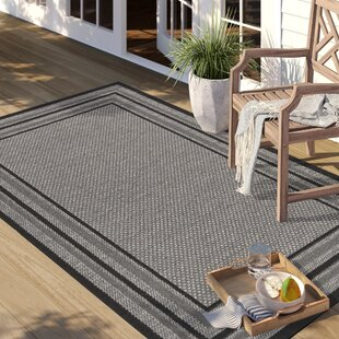 Dominica Gray Indoor/Outdoor Area Rug