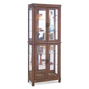 Tribeca II Lighted Curio Cabinet by Philip Reinisch Co.