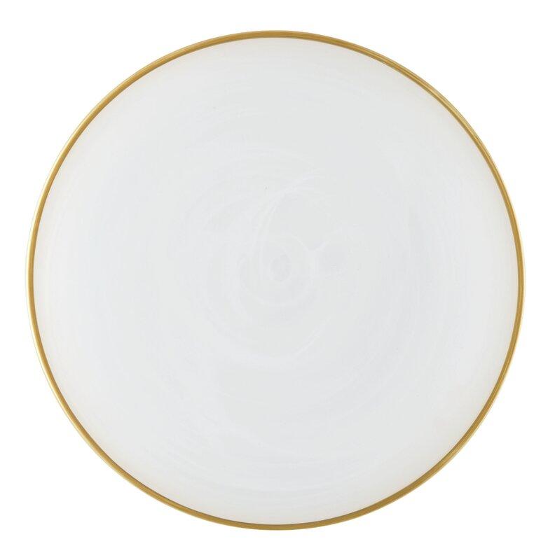 """Alabaster 11"""" Dinner Plate"""