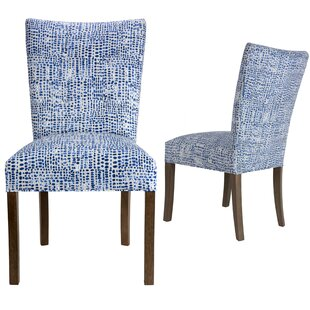 Garavan Upholstered Dining Chair (Set of 2) Latitude Run