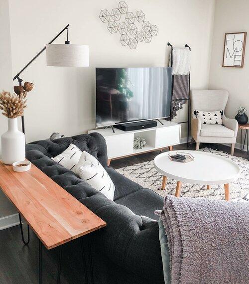 Shop this Room - Modern Farmhouse Living Room Design