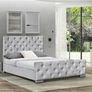 Elsa Upholstered Bed Frame By Rosdorf Park