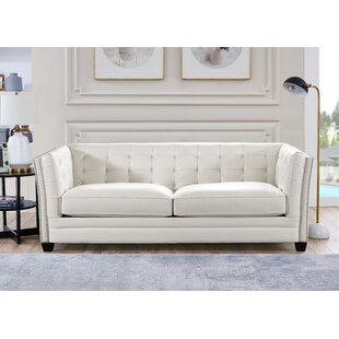 Abril Leather Sofa
