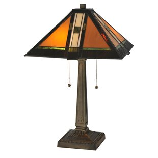 Prairie Parquet Mission 22 Table Lamp