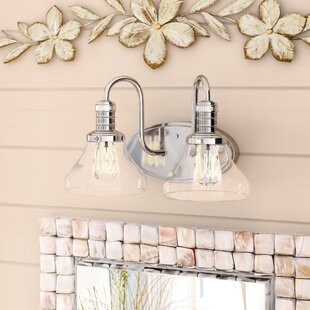 Breakwater Bay Wall Street 2-Light Vanity Light