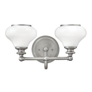 Jablonski 2-Light Vanity Light by Winston Porter