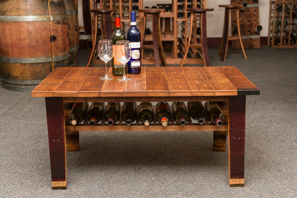 Napa East Collection Wine Country Coffee Table \u0026 Reviews | Wayfair
