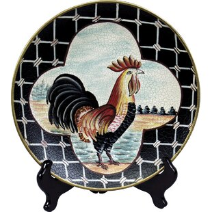 Rooster Plate  sc 1 st  Wayfair & Decorative Rooster Plates | Wayfair