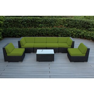 Barneveld 7 Piece Sectional Seating Group with Cushions
