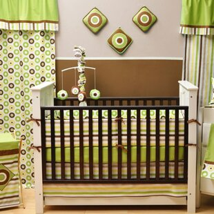 Zareen Dots and Stripes 10 Piece Crib Bedding Set By Harriet Bee