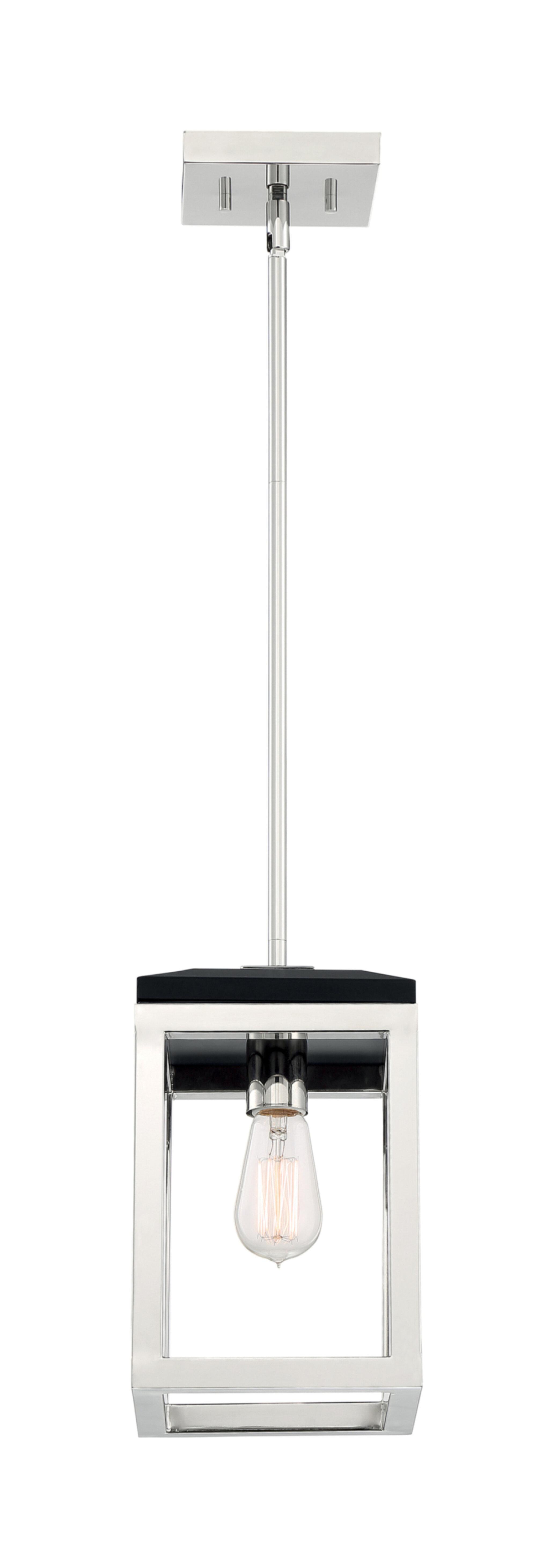 Wrought Studio Aras 1 Light Lantern Rectangle Pendant Wayfair