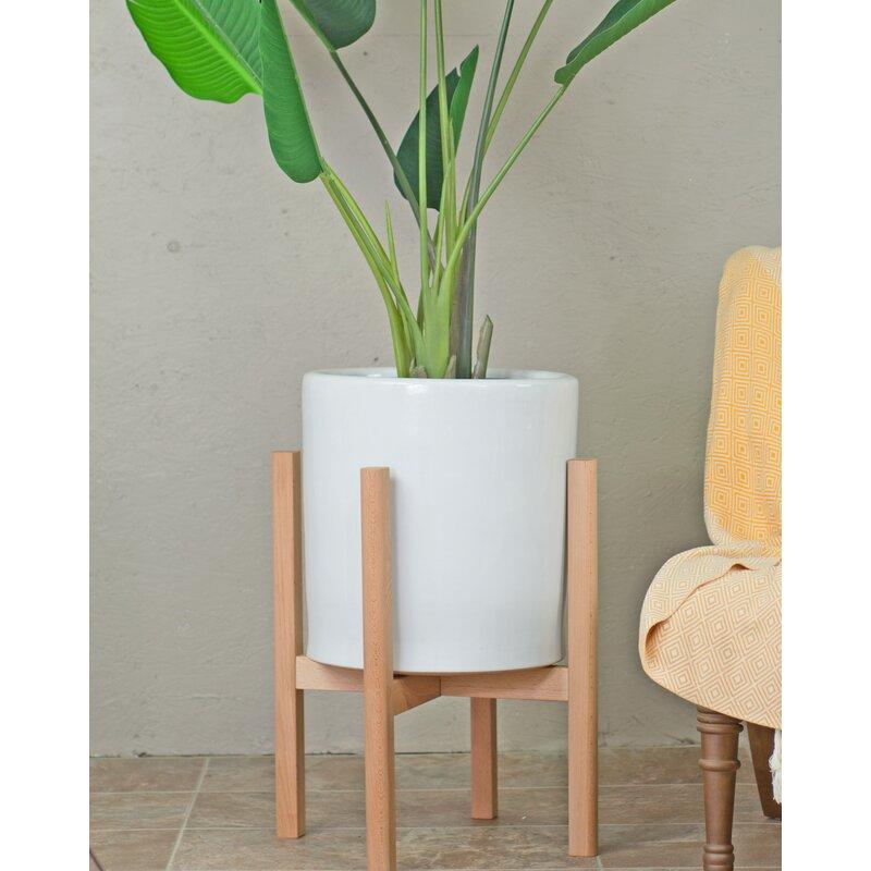 George Oliver Daniell Ceramic Pot Planter Reviews Wayfair