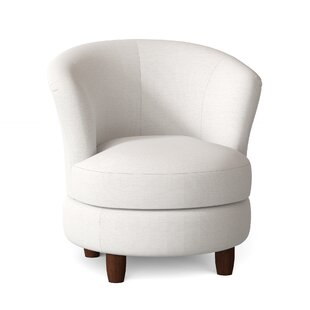 Avel Swivel Barrel Chair by Red Barrel Studio
