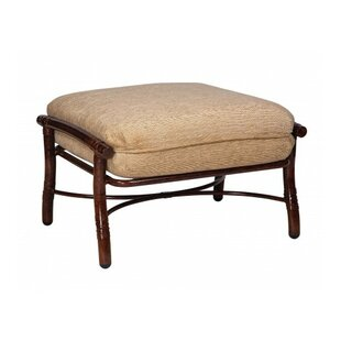Woodard Glade Isle Ottoman with Cushion