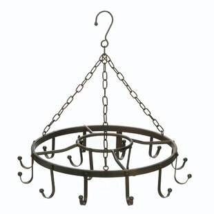 Circular Chandelier Pot Rack