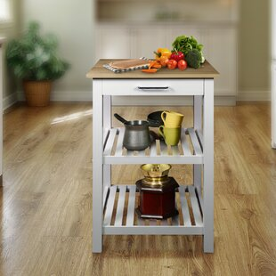 Berkeley Prep Table with Solid Wood Maple Top by August Grove