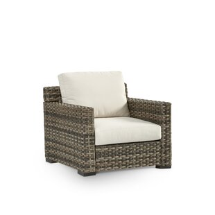South Sea Rattan Jakarta Patio Chair with Sunbrella Cushion