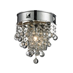 House of Hampton Kleckner 1-Light Flush Mount