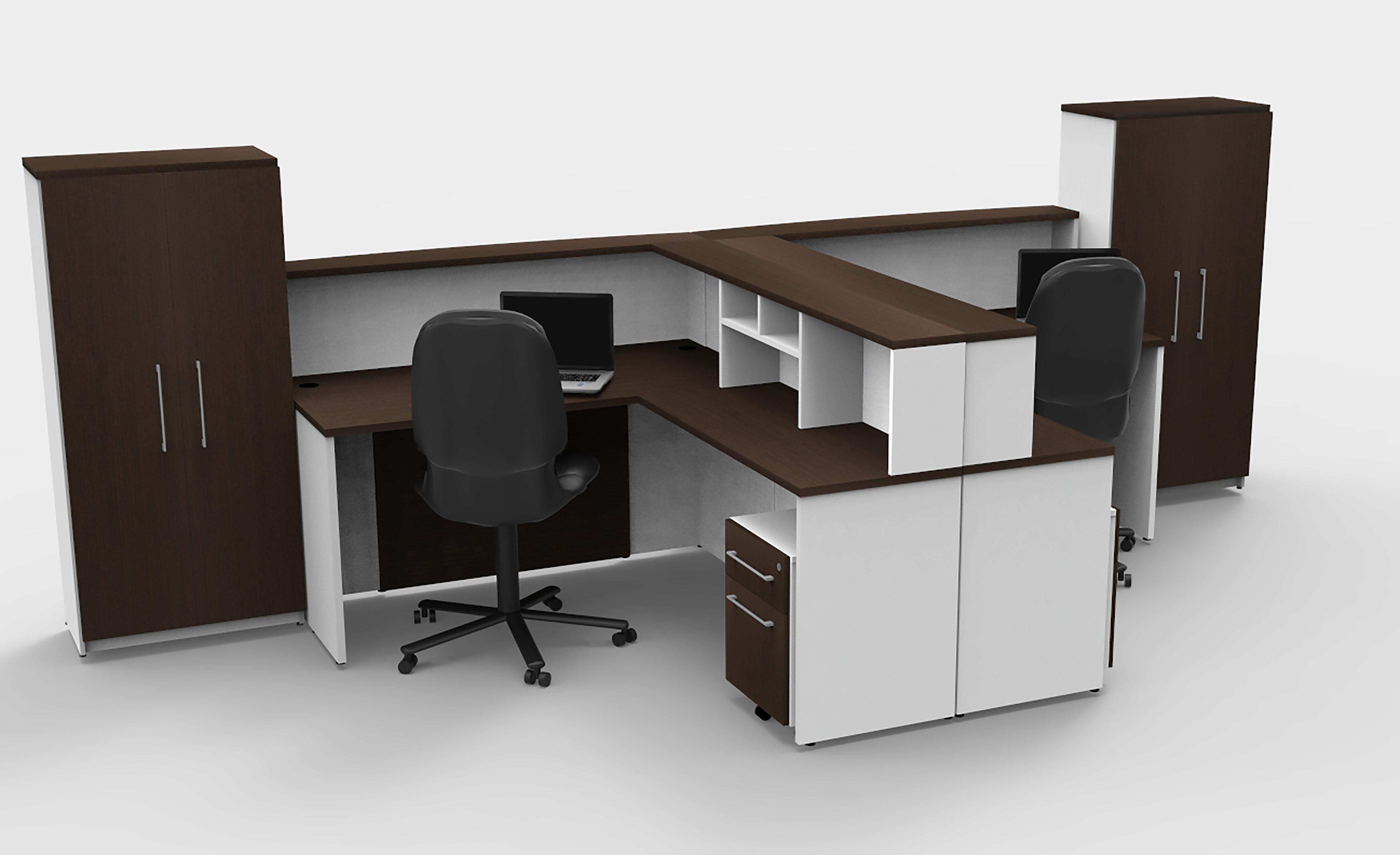 huge discount 60ef0 060b9 Mabton L-Shape Reception Desk