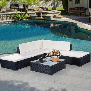 Azu Rattan Corner Sofa Set Image