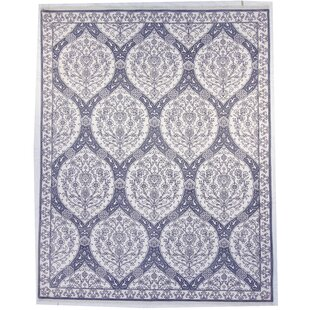 Buy One-of-a-Kind Marisol Hand-Knotted 9 x 12 Wool White Area Rug By One Allium Way