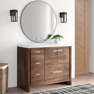 Modern 41 45 42 Inch Bathroom Vanities Allmodern