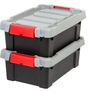Store It All Tote (Set of 6)  sc 1 st  Wayfair & Red Plastic Storage Bins Youu0027ll Love | Wayfair